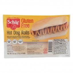 Schar Hot Dog Rolls - Case...