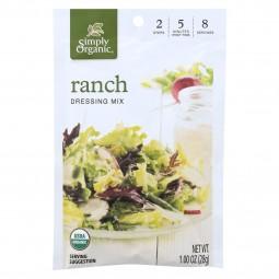 Simply Organic Ranch Salad...