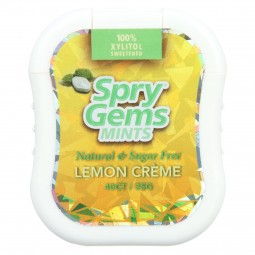 Spry Xylitol Gems - Lemon -...