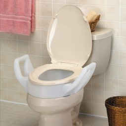 Elevated Toilet Seat W-arms...