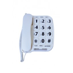 Large Button Telephone With...