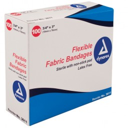 Flexible Fabric Bandages...