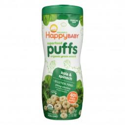 Happy Baby Organic Puffs...