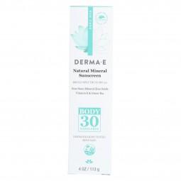 Derma E - Sunscreen - Body...