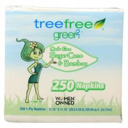 Green2 Paper Napkins - Case...