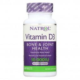 Natrol Vitamin D3 - 10000...