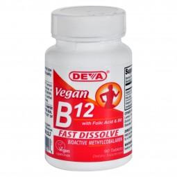 Deva Vegan Vitamins - B12...