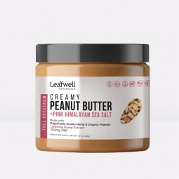 Creamy Peanut Butter: 750mg...