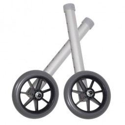 Walker Wheels 5  Fixed With...