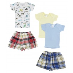 Infant Girls T-shirts And...