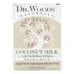 Dr. Woods Bar Soap Coconut...