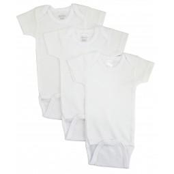 White Short Sleeve One...