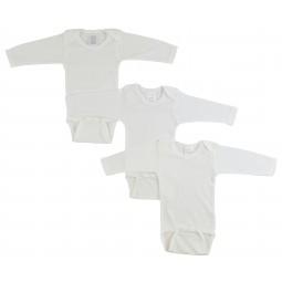 Long Sleeve White Onezie 3...