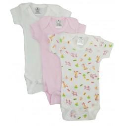 Preemie Girls Printed Short...