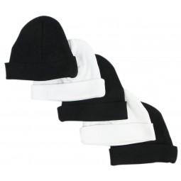 Black & White Baby Caps...