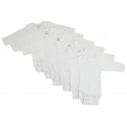 Long Sleeve White Onezie 6...