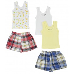 Boys Tank Tops And Boxer...