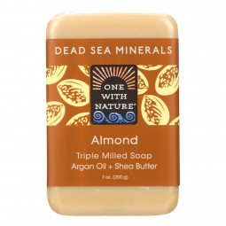 One With Nature Almond Soap...