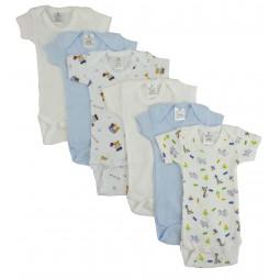 Preemie Boys Short Sleeve...
