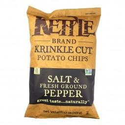Kettle Brand Salt & Pepper...