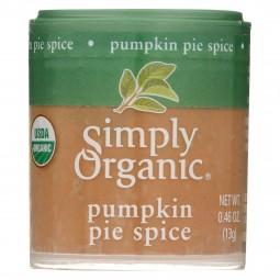 Simply Organic Pumpkin Pie...