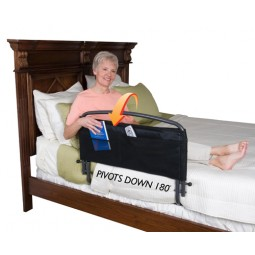 Safety Bed Rail And Pouch...