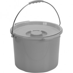 Commode Pail With Lid 12...