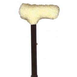 Fleece Cane Grip T-handle