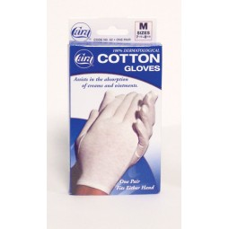 Cotton Gloves - White Large...