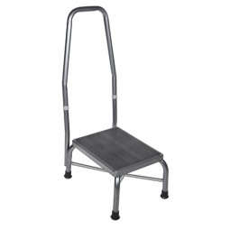 Foot Stool With Rail