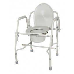 Drop Arm Commode Deluxe-kd...