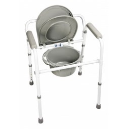 Folding Commode  3in1...