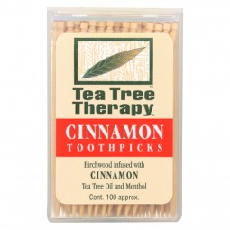 Tea Tree Therapy Toothpicks...
