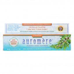Auromere Toothpaste -...