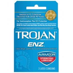 Trojan Enz Spermicidal...