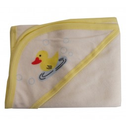 Hooded Towel With Yellow...
