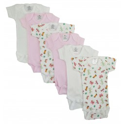Girls' Printed Short Sleeve...