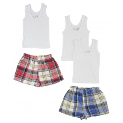 Infant Tank Tops And Boxer...