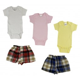 Infant Onezies And Boxer...