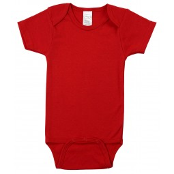 Red Interlock Short Sleeve...