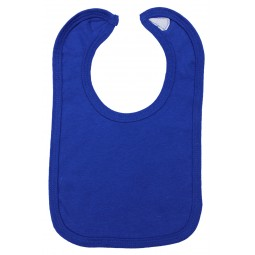 Royal Blue Interlock Bib