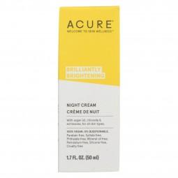 Acure - Night Cream - Argan...