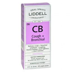 Liddell Homeopathic Cough...