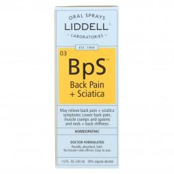 Liddell Homeopathic Back...