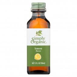 Simply Organic Lemon Flavor...