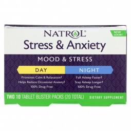 Natrol Stress Anxiety Day...