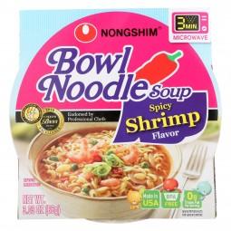 Nong Shim Spicy Shrimp Bowl...