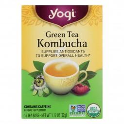 Yogi Tea Green Tea Kombucha...