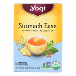 Yogi Tea Stomach Ease -...