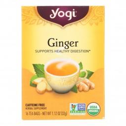 Yogi Tea Organic - Ginger -...